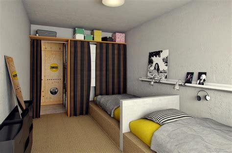 an inspirational apartment living in a shoebox luxurious dorm room by ruta bagdzevičiūtė living in a