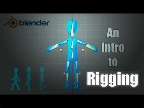 tutorial rigging blender pdf blender tutorial basics of character rigging youtube