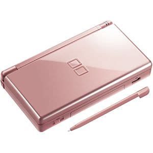 buy a nintendo ds lite metallic pink system discounted