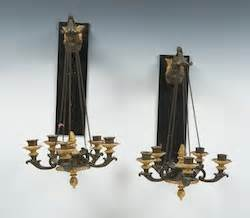 suspended decorative chain of ribbons and flowers decorative arts march 2011 auction