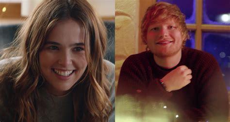 ed sheeran perfect video cast ed sheeran debuts perfect music video starring zoey