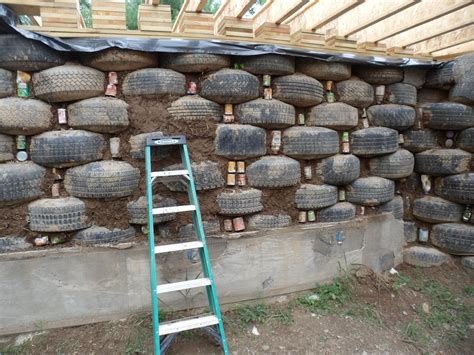 house of tires solar earthship tire house passive solar case study energysage