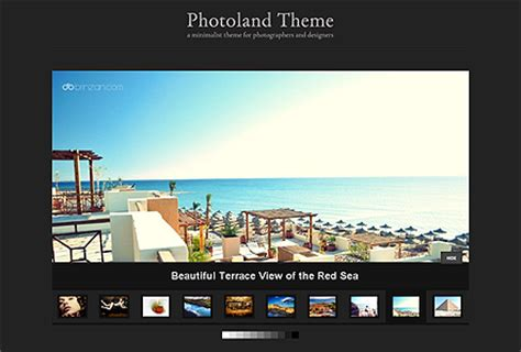 wordpress themes for gallery sites 10 wordpress themes designed for photo galleries
