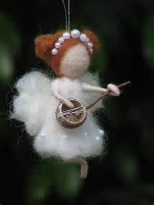 needle felted fairy christmas ornament home decor by made4ubymagic