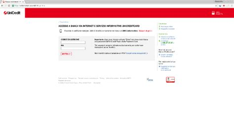 unicredit on line clienti unicredit it accesso area clienti gnius economia