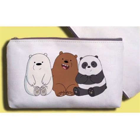 We Bare Pouch we bare bears pouch pencil s fashion bags