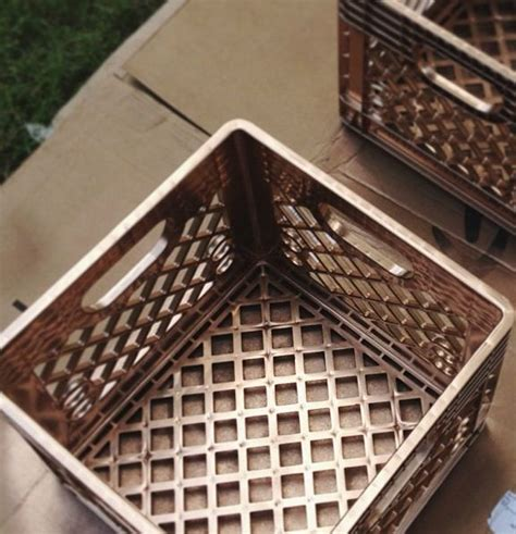 design with milk crates spray painting a milk crate 2015 home design ideas