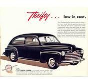Car Brochures  1946 Ford Brochure / 08jpg