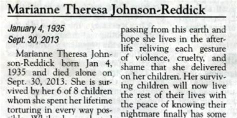 The Obituary katherine reddick discusses viral scathing obituary