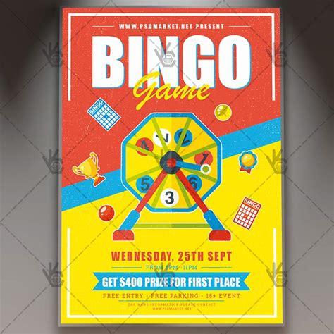 match cards template psd bingo premium flyer psd template psdmarket