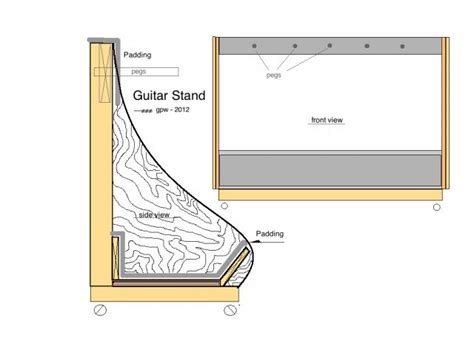 Guitar Storage Rack Plans lote wood guitar storage rack plans diy