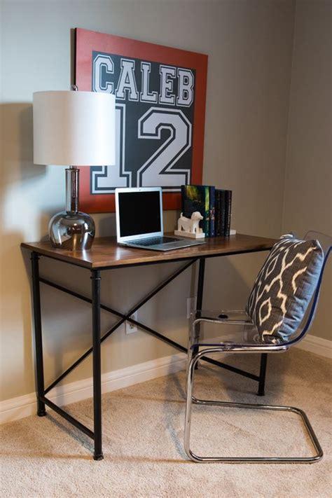 room desks boy bedroom ideas orange navy and white modernteenboy sportyteenroom bedrooms