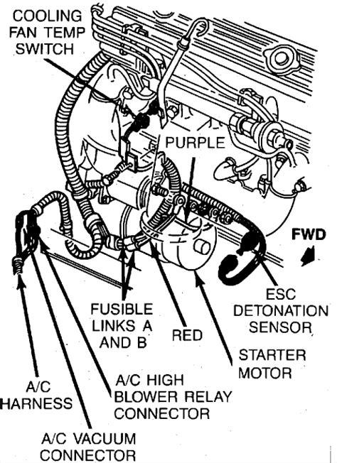 1984 corvette temp runs hot but radiator fan will not kick