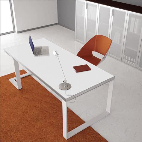 stark white metal desk ambience dor 233
