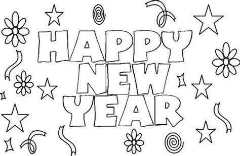 coloring pages for new year 2015 great happy new year 2015 coloring pages for kids