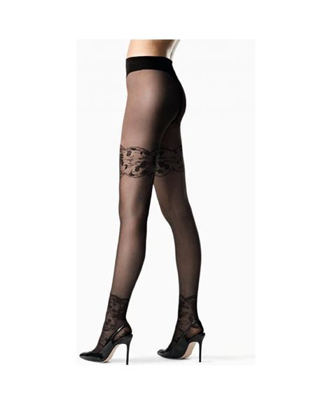 pattern ankle tights fogal belle ankle lace pattern tights