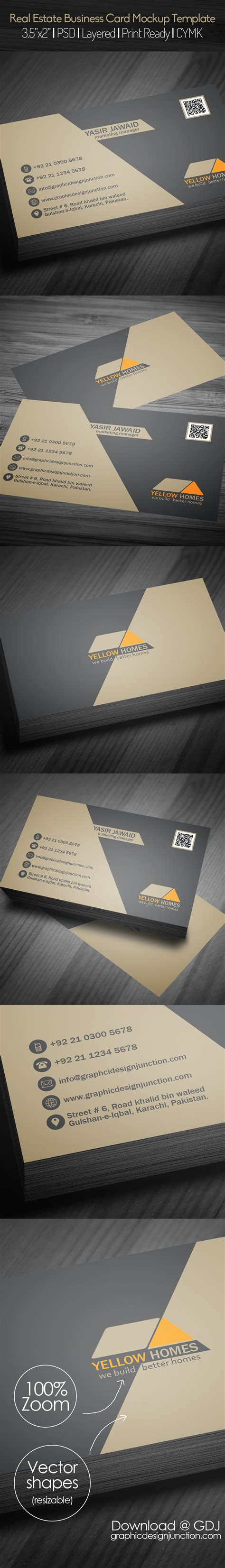 business card template graphic design freebie free real estate business card template psd freebies