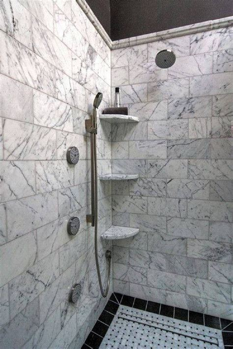 Tiling A Shower Wall Corner by Bathroom Corner Shelf Completes Your Small Bathroom