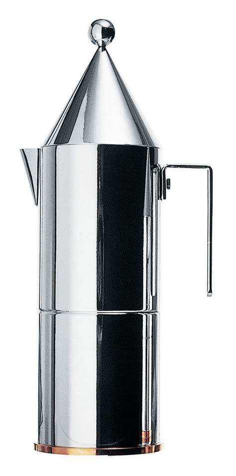 alessi kaffeebereiter la conica 6 tassen alessi italienischer kaffeebereiter