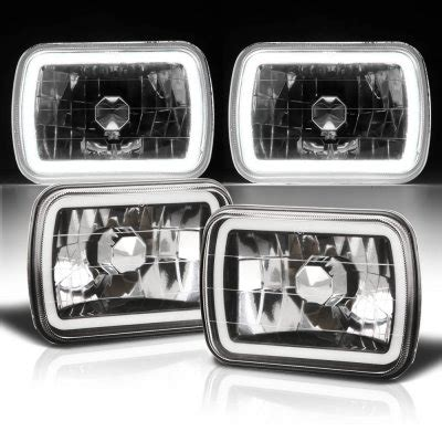 1986 jeep comanche black jeep comanche 1986 1992 black halo sealed beam