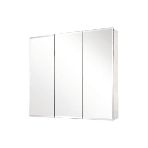 beveled mirror medicine cabinet pegasus sp4589 31 inch by 36 inch tri view beveled mirror