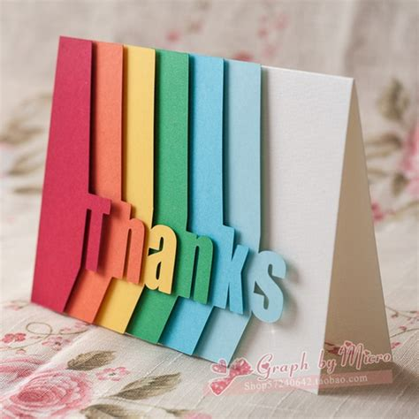 Handcrafted Card - 35 handmade greeting card ideas to try this year