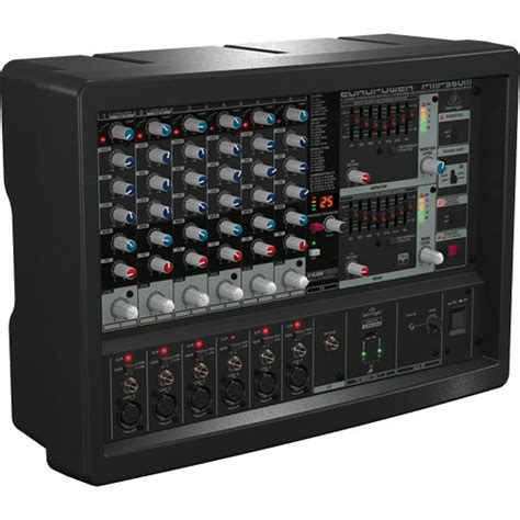 Power Mixer Behringer 6 Channel behringer pmp560m 500w 6 channel powered mixer with kt pmp560m