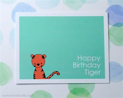 Happy Birthday Card For Him Funny Happy Birthday Card Boyfriend Husband Him Fun Tiger