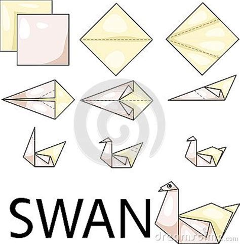 Origami Swan Printable - 25 best ideas about origami swan on simple