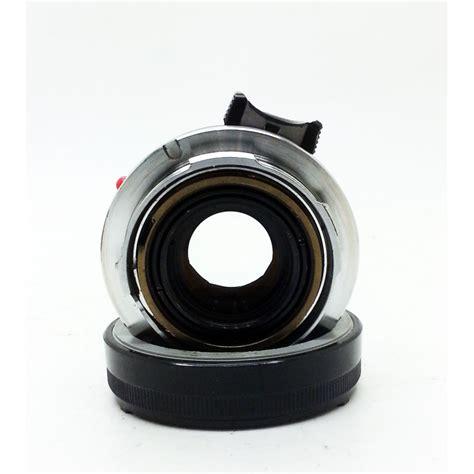 Hk 8 35 Black leica summicron m 35mm f 2 8 element original black meteor