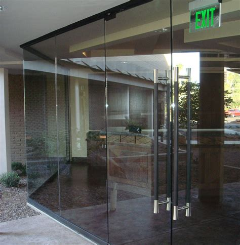 Glass Entrance Gallery The Advantages When Using Glass Door