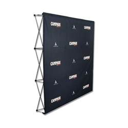 Home And Design Show Edmonton pop up display for trade shows plus step amp repeat banners