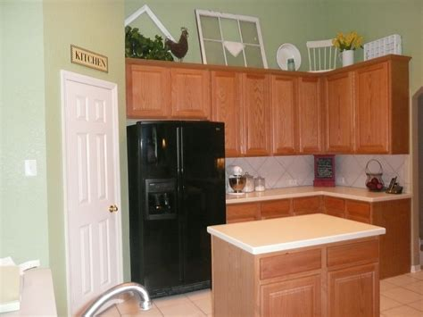 kitchen wall color ideas with oak cabinets painting cabinets holly mathis interiors