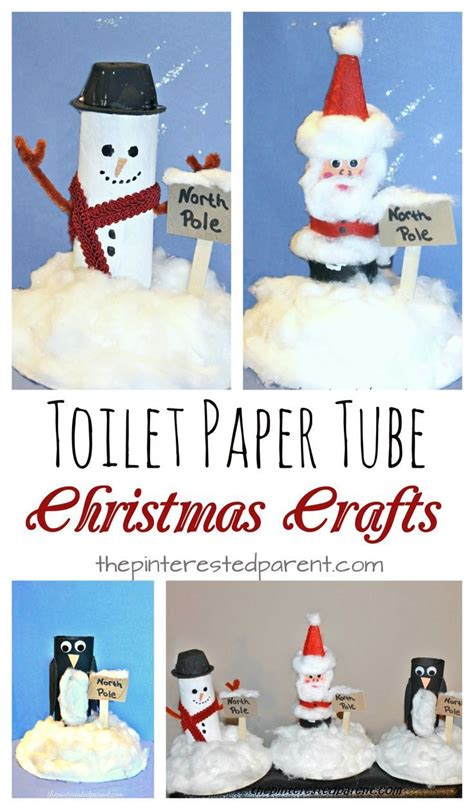 toilet paper santa craft toilet paper snowman santa penguin at the