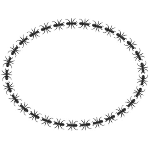 Ant Ovale ant border oval clipart cliparts of ant border oval free