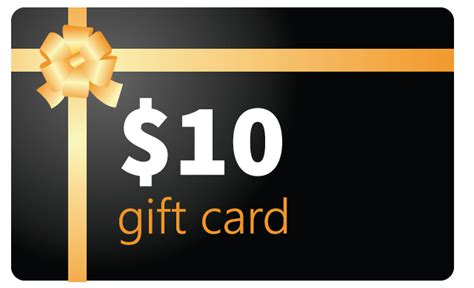 10 Gift Cards - gift card 10