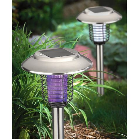 outdoor bug light bulbs 4 pk of kimberly solar bug zapper lights 227437