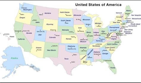 us elections: pronounce states and capitals cities