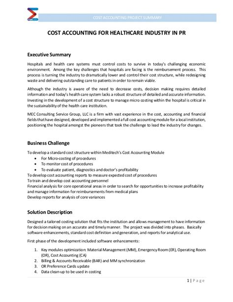 Wonderful Cost Accounting Template Contemporary - The Best ...