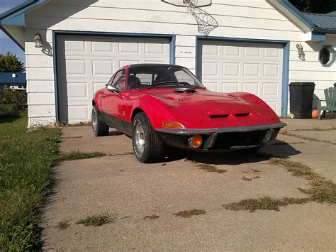 opel chevy 1970 opel gt coupe chevy 350 motor opel gt