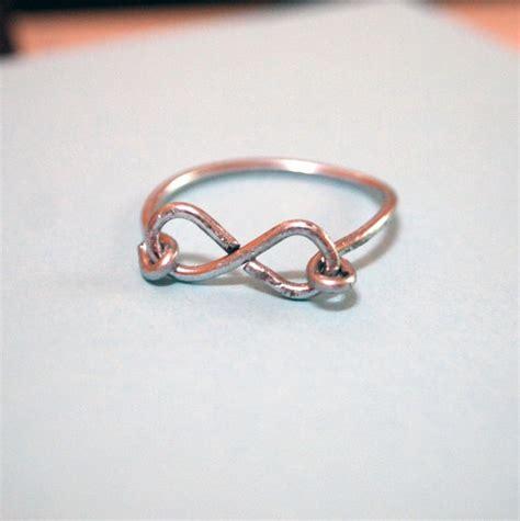 diy infinity ring simple all
