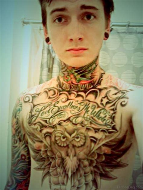 awesome chest tattoos 50 attractive owl tattoos designs on chest