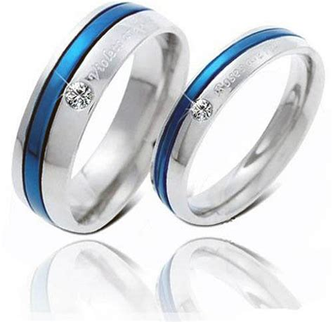 couples promise rings sets inofashionstyle
