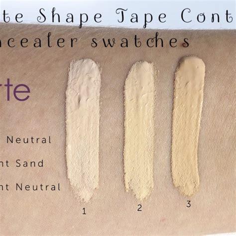 tarte shape light neutral tarte shape contour concealer beautyhaulindo