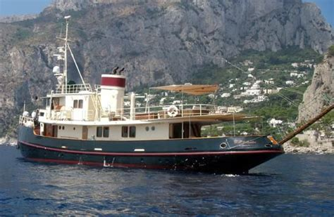 tugboat yachts for sale 1953 benetti converted tug boats yachts for sale