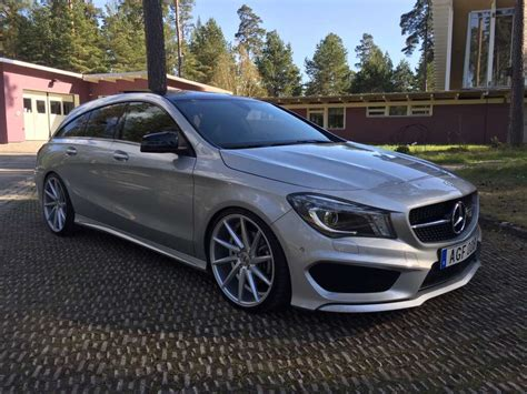 Tieferlegung Cla Shooting Brake by My 220 Cdi Cla Shooting Brake
