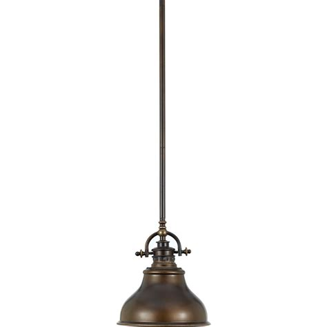 Small Pendant Light Nautical Mini Pendant Light In Bronze Finish Er1508pn