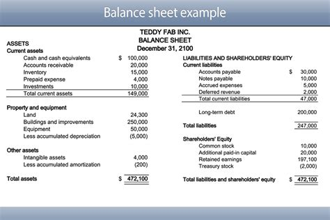 printable blank simple balance sheet template format layout