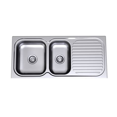 Bunnings Kitchen Sink Sink S S Radiant 1100mm 1 75 End No Th R150 Bunnings Warehouse