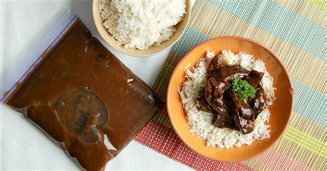 paleo instant pot freezer mini instant pot paleo mongolian beef once a month meals